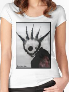 Punk Macabre Women's Fitted Scoop T-Shirt