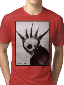 Punk Macabre Tri-blend T-Shirt