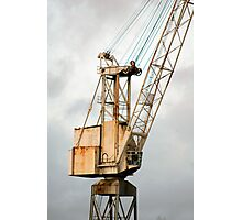 Crane on the Clyde Photographic Print
