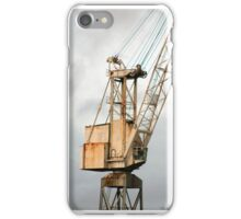 Crane on the Clyde iPhone Case/Skin
