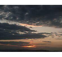 Casuarina Sunset Photographic Print