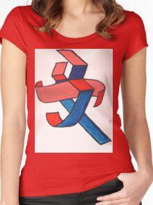 Chinese Femininity  Women's Fitted Scoop T-Shirt