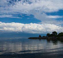 A Perfect Summer Day, Toronto, Lake Ontario by Georgia Mizuleva