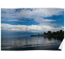 A Perfect Summer Day, Toronto, Lake Ontario Poster