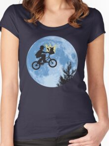 Electric Ride Women's Fitted Scoop T-Shirt