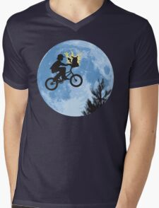 Electric Ride Mens V-Neck T-Shirt