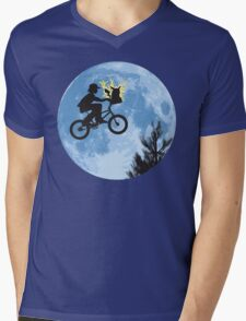 Electric Ride Mens V-Neck T-Shirt