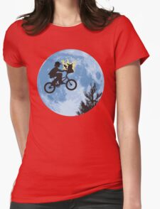 Electric Ride Womens Fitted T-Shirt