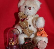 Teddies in Miniature by AnnDixon