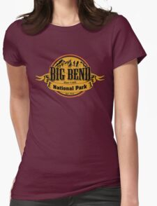 Big Bend National Park, Texas Womens Fitted T-Shirt