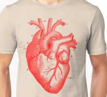 Oversized Anatomical Heart T-Shirt Unisex T-Shirt