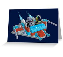 Daft Invaders Greeting Card