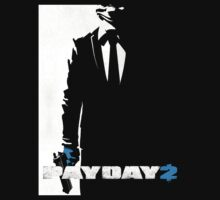 Payday 2 - Black N' White #2 by Daxfire