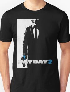 Payday 2 - Black N' White #2 T-Shirt