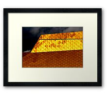 The Midas Touch Framed Print