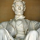 A Seated Abe Lincoln by Cora Wandel