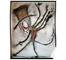 Tarantula Aristocrat Oddity Poster