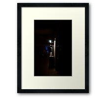 London Underpass - Barbican Framed Print