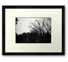 Barren - Lomo Framed Print