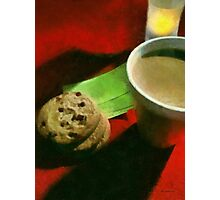 Coffee and Cookies at the Café Photographic Print