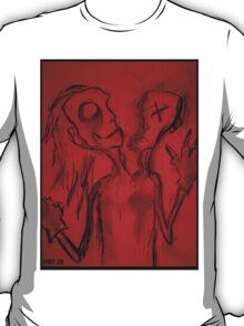 Personality Split Oddity (In Red) T-Shirt