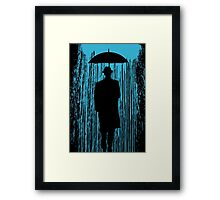 Downpour Framed Print