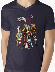 The Warrior Mens V-Neck T-Shirt