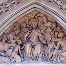 Truro Cathedral Exterior- Biblical Scene by BlueMoonRose