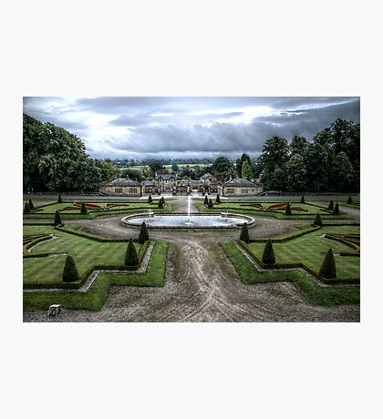 Bowes Museum View Photographic Print