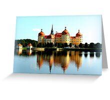 Moritzburg Castle Greeting Card