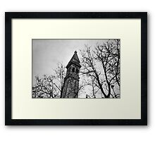 Just Another Leaning Tower - Lomo Framed Print