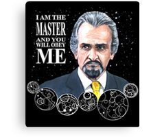 The Master (Roger Delgado) Canvas Print