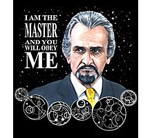 The Master (Roger Delgado) Photographic Print