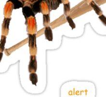 A spider with a baseball bat Sticker