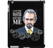 The Master (Roger Delgado) iPad Case/Skin