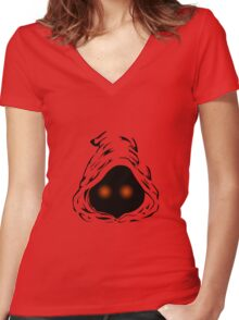 JAWA STAR WARS Women's Fitted V-Neck T-Shirt