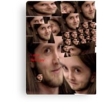 Varg is a swell guy Canvas Print