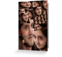 Varg is a swell guy Greeting Card