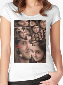 Varg is a swell guy Women's Fitted Scoop T-Shirt