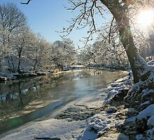 A Frozen River Kent by DRWilliams