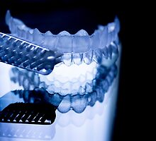 Dental retainers and toothbrush by GemaIbarra