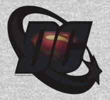 DC Man Of Steel Logo by Laura Mancini