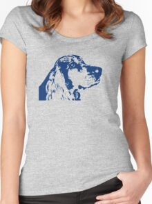 Head dog Women's Fitted Scoop T-Shirt