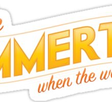 In the Summertime Sticker