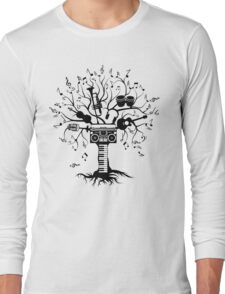 Melody Tree - Dark Silhouette Long Sleeve T-Shirt