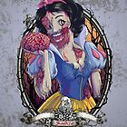 Zombie Snow White by LiquidSugar