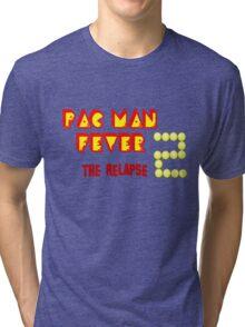 pac-Man Fever 2 the relapse t-shirt logo Tri-blend T-Shirt
