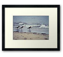 Ebb & flow Framed Print