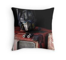 Tough Day In The Office Throw Pillow