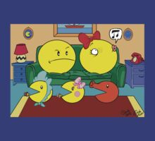pac-Man Fever 2 the relapse: official t-shirt - the three sons by DanDav